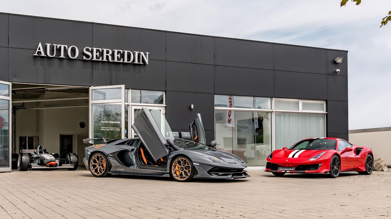 Auto Seredin Sport Luxury Cars For Export In Stuttgart Germany