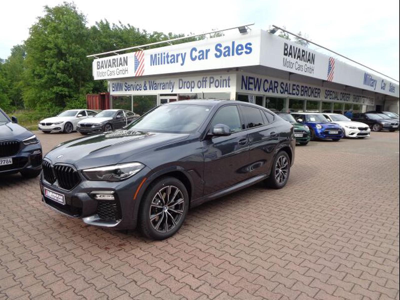 Bmw X6 Xdrive40i M Sport Tax Free Military Sales In Kaiserslautern Price 65527 Usd Int Nr U 16269 Sold