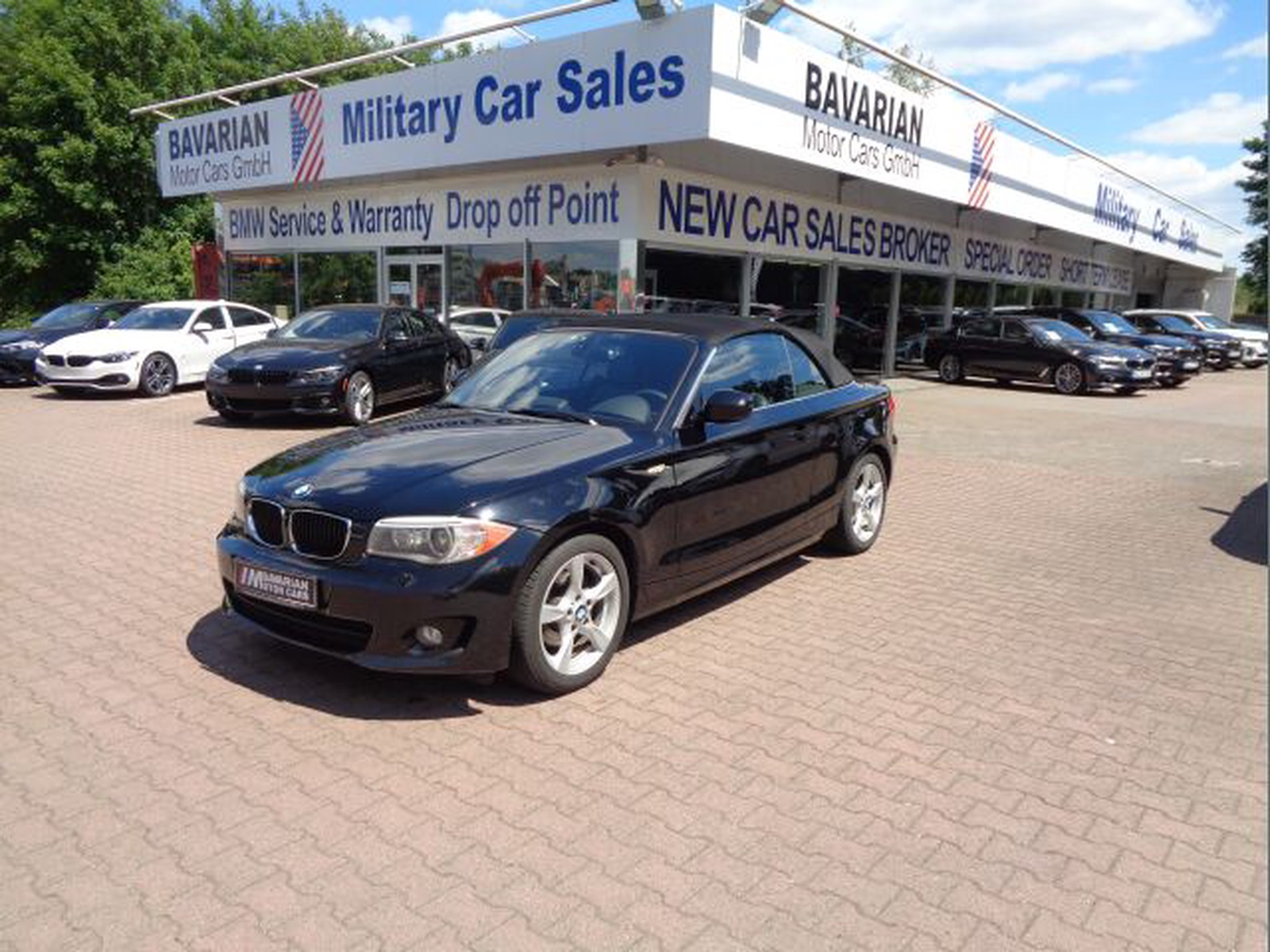 Bmw 128 I Convertible Tax Free Military Sales In Kaiserslautern Price 12995 Usd Int Nr U 16513 Sold