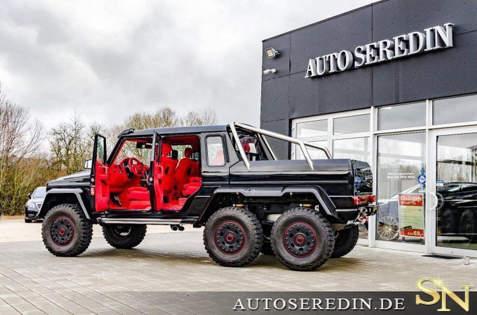 Mercedes Benz G 63 Amg 6x6 Gebraucht Kaufen In Hechingen Bei Stuttgart Preis 1189999 Eur Int Nr 1772 Verkauft