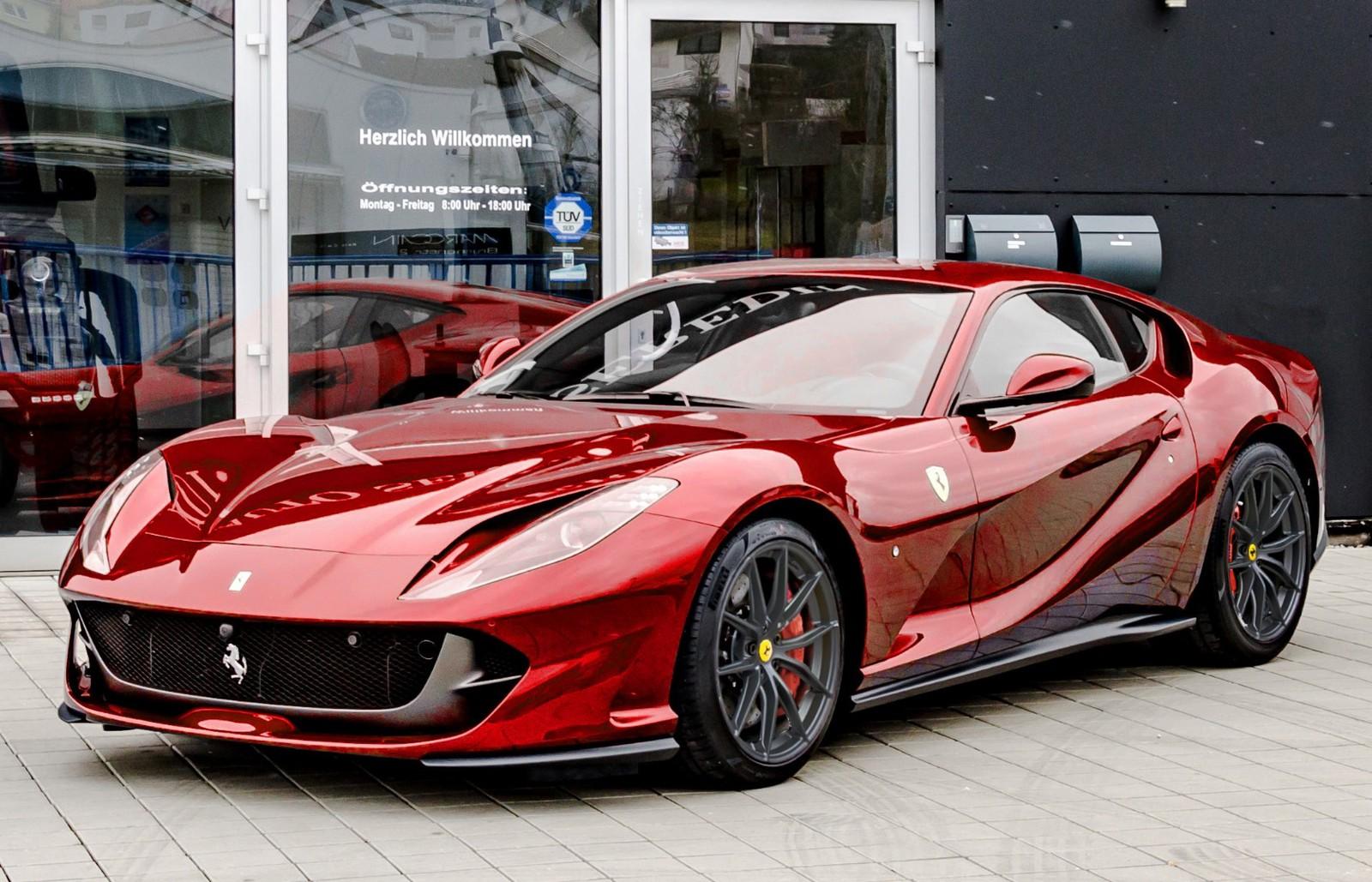 Ferrari 812 Superfast Stock Full New Buy In Hechingen Bei Stuttgart Price 356999 Eur Int Nr 2191 Sold