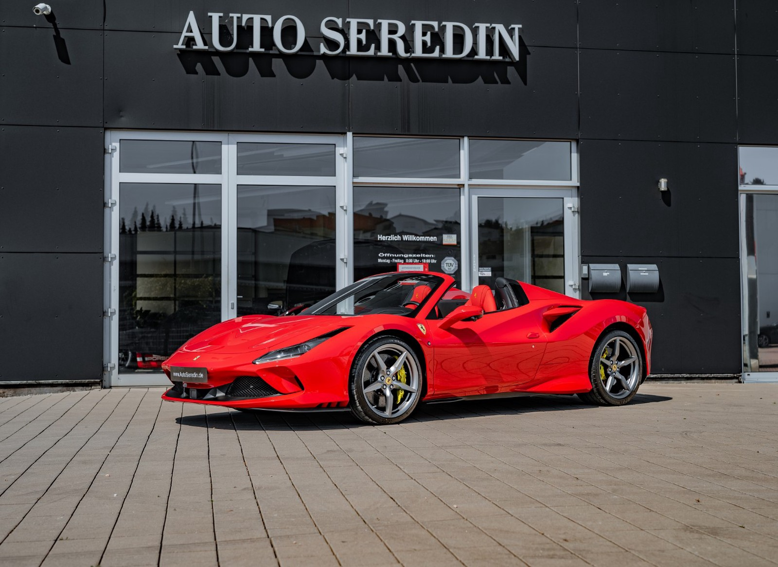 Ferrari F8 Spider New Buy In Hechingen Bei Stuttgart Price 371199 Eur Int Nr 20 308 Sold