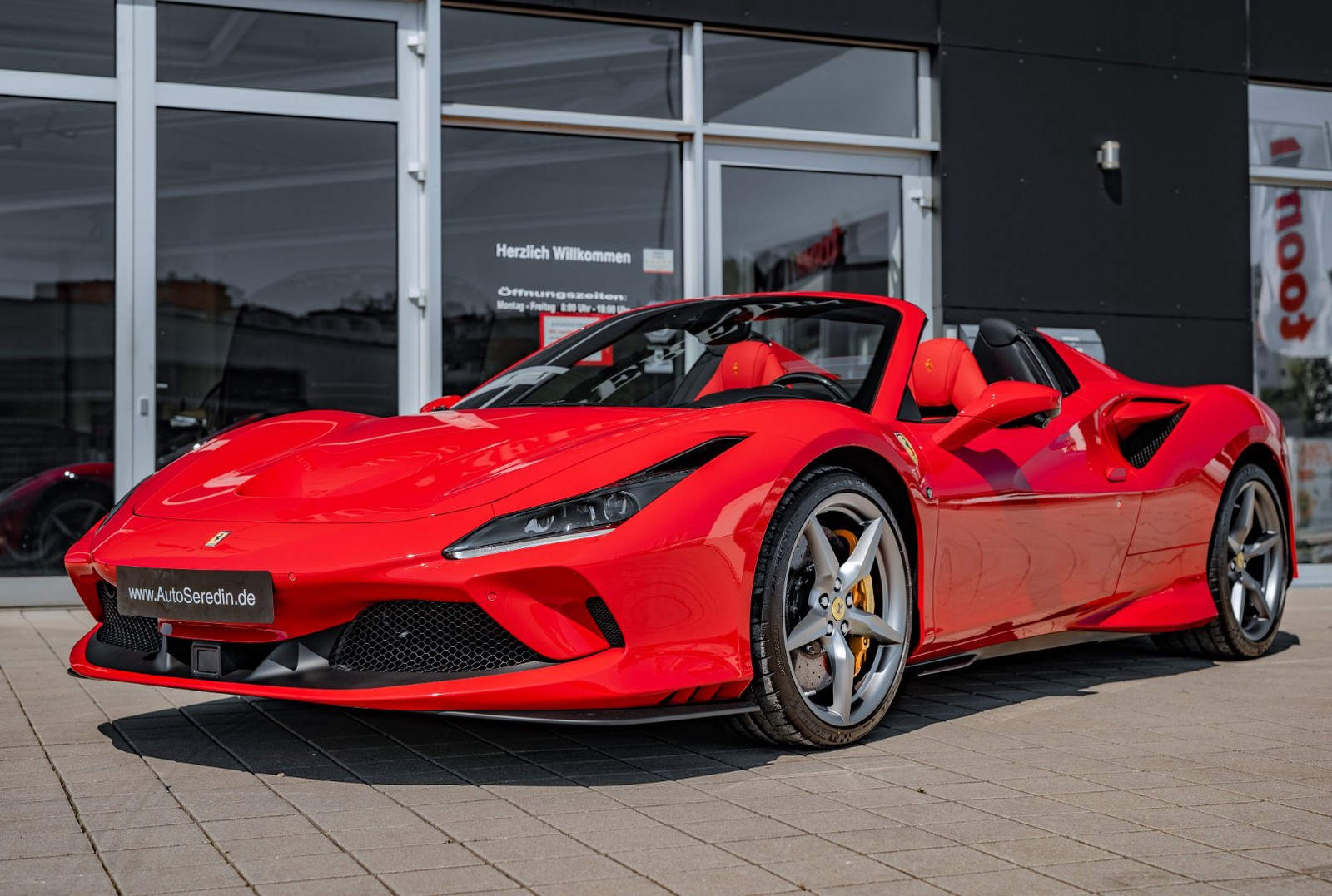 Ferrari F8 Spider New Buy In Hechingen Bei Stuttgart Price 371199 Eur Int Nr 20 308 Sold