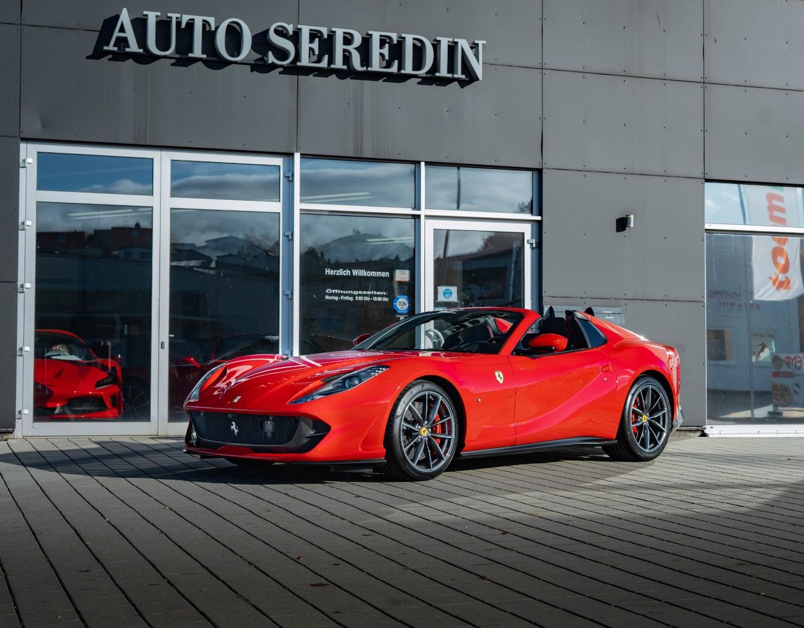 Ferrari 812 Gts New Buy In Hechingen Bei Stuttgart Price 481950 Eur Int Nr 20 500 Sold
