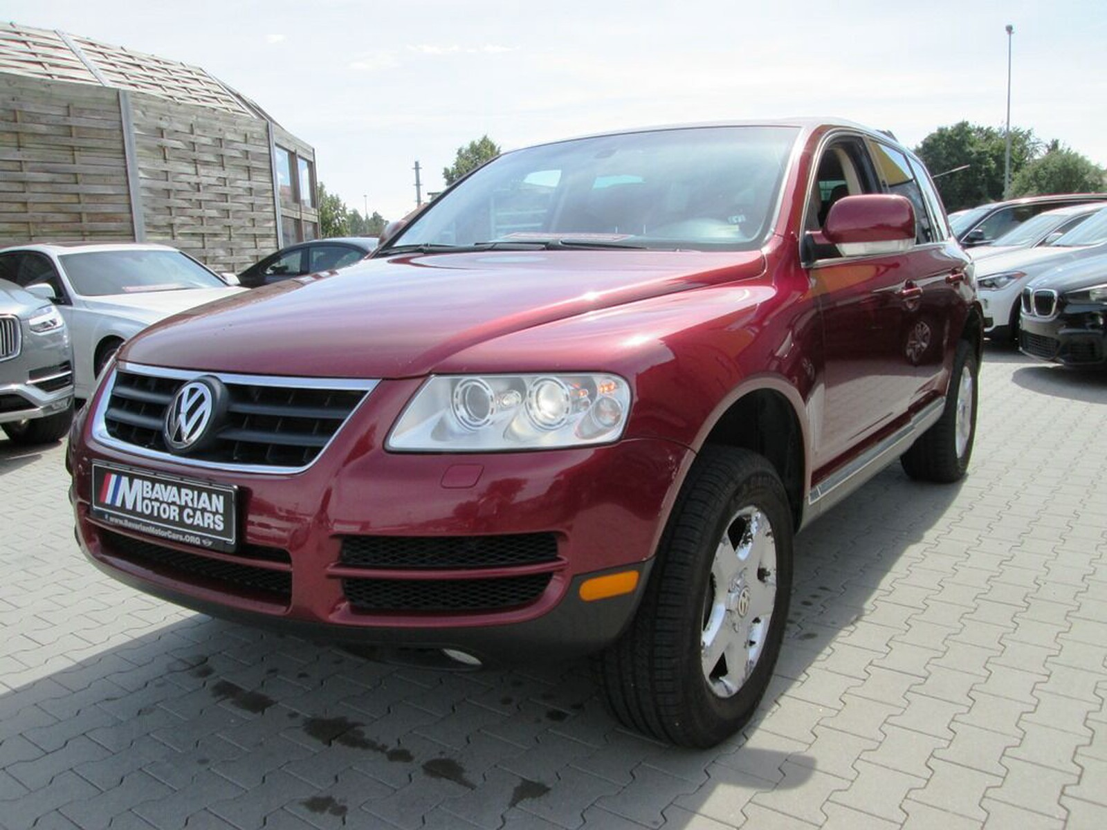 Volkswagen Touareg Sport Utility 4d Tax Free Military Sales In Wurzburg Price 3995 Eur Int Nr U 14653 Sold