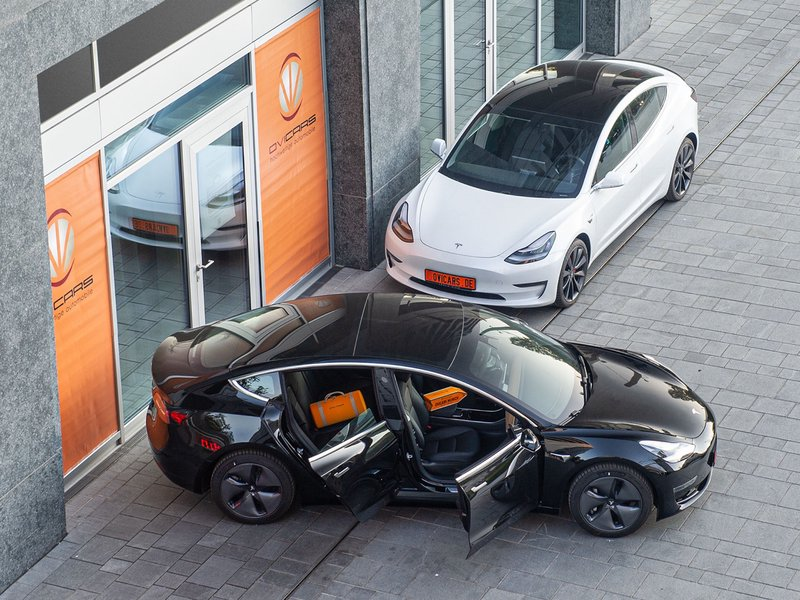 Tesla Model 3 Long Range In Munchen Germany For Export Price 55448 Eur One Day Registration